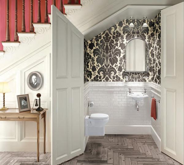 Diseño de baño bajo escalera 2