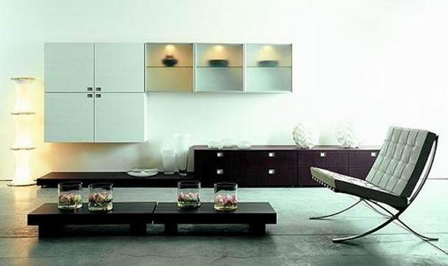 Mesas minimalistas para salas