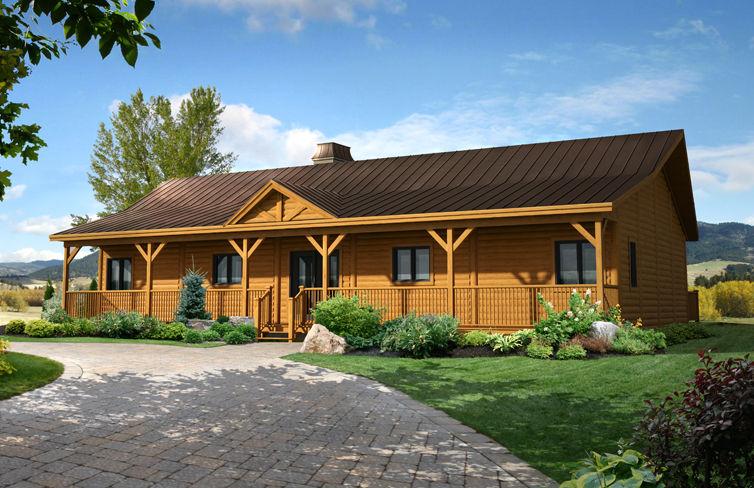 Plano de casa alargada con 4 dormitorios for Casa minimalista 4 dormitorios