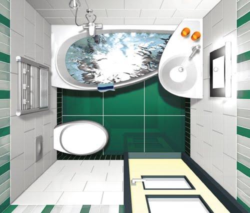 Planos para cuartos de ba o peque os for Planos de cuartos de bano pequenos
