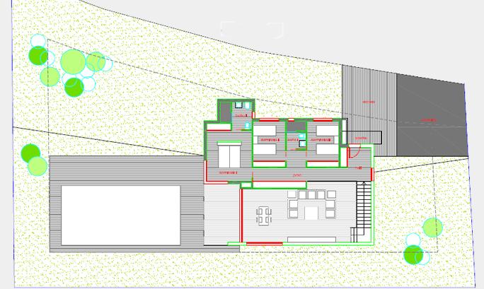 Planos modernos de casas 2014 2015 for Planos de chalets modernos