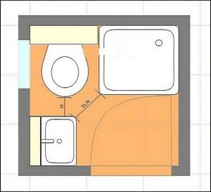 Planos modernos de baños chicos