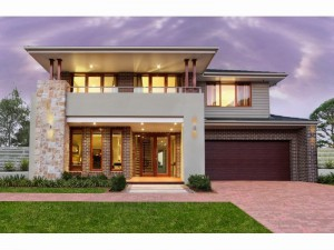 fachada de casa moderno minimalista