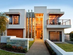 fachadas de casas moderno minimalistas