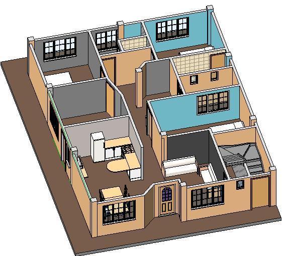 Ver planos y favhadas de casas for Planos de casas para construir de una planta