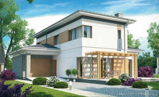 Planos de casas de 2 plantas - Planos de casas de madera de una planta ...