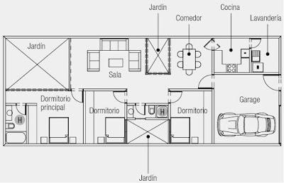 Planos de casas y viviendas para construir gratis - Planos para construir una casa ...