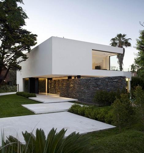 Planos de casas minimalistas for Imagenes de arquitectura minimalista