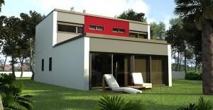 casa de hormigon prefabricada