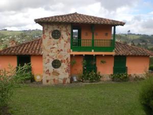 foto de casa de campo