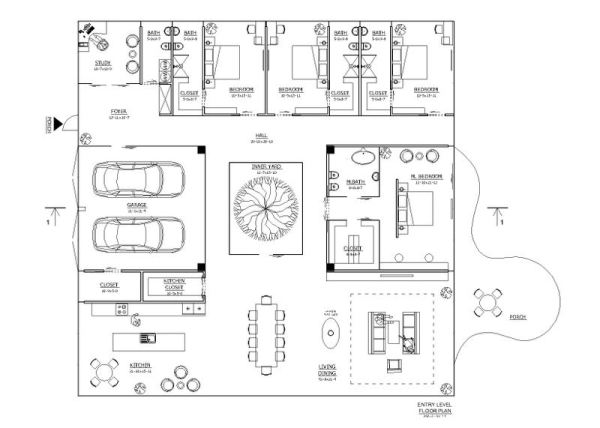 Planos de casas minimalistas for Planos de oficinas pequenas modernas