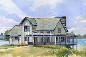 planos de casas de madera gratis
