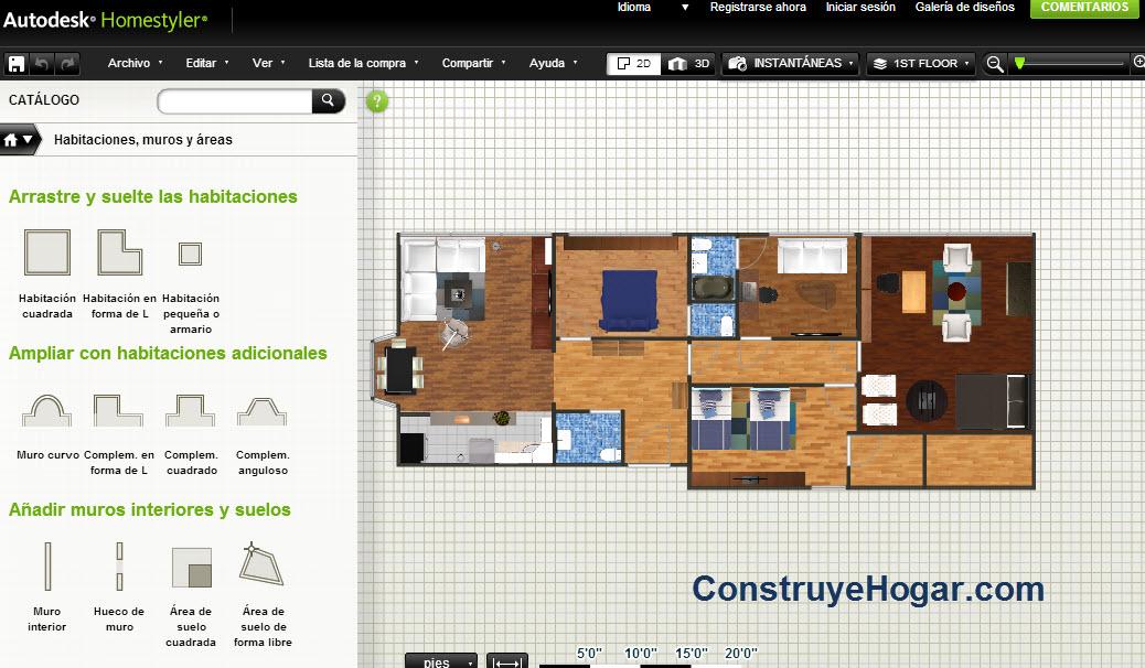 Descargar programa para hacer planos 3d for Como disenar una casa gratis