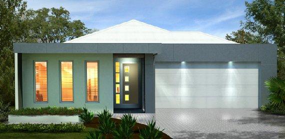 Fachadas para casas for Fachada de casa moderna de una planta