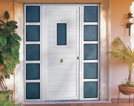 Fotos de puertas de aluminio con estilo