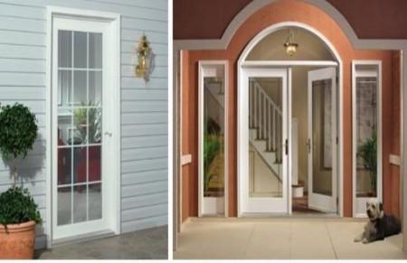 Fotos de puertas de aluminio tipos