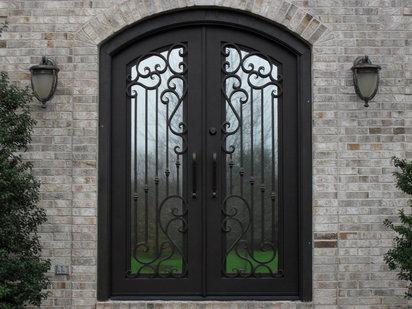 Fotos de puertas de hierro, tipos