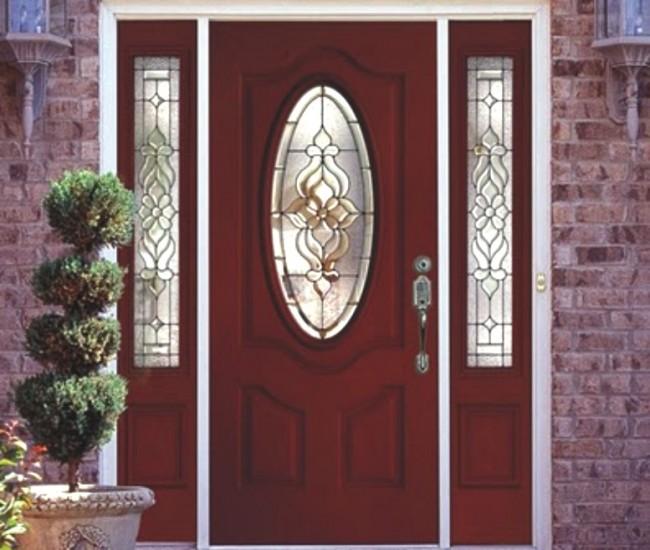 Fotos de puertas principales for Modelos de puerta de madera para casa