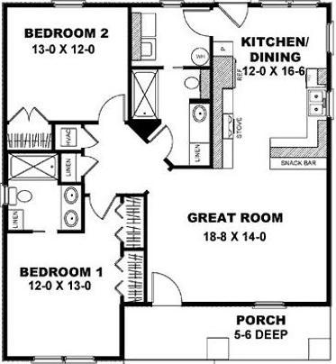 Planos para construcción casas pequeñas, fotos
