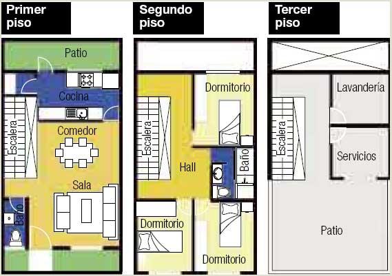 Planos para construcci n casas peque as for Programas para disenar planos arquitectonicos