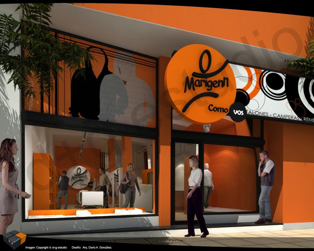 Fachadas para locales comerciales for Fachadas de almacenes modernos