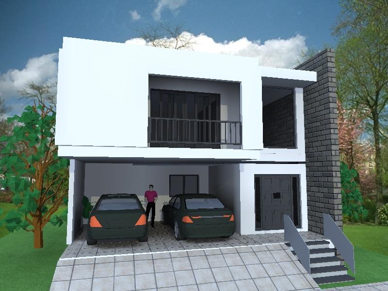 Planos de casa en autocad for Casa cad