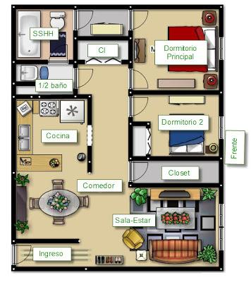 Planos de casa pequeñas online