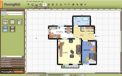 Programa para hacer planos de casa for Programa de diseno de interiores online