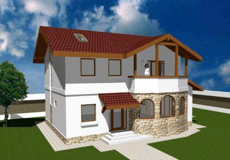 Planos de casas de dos pisos modernas online