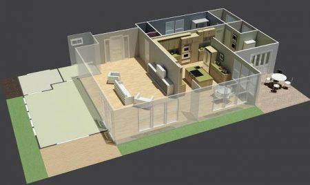 Planos de casas gratis en Internet para hacer en casa