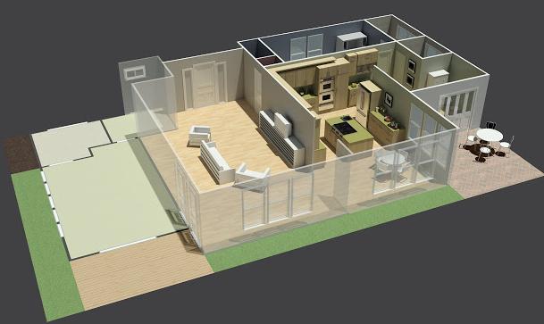 Planos de casas gratis en internet for Programa para disenar casas facil