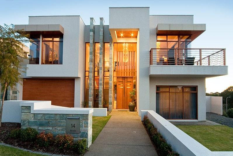 Planos De Fachadas De Casas De Dos Pisos Modernas