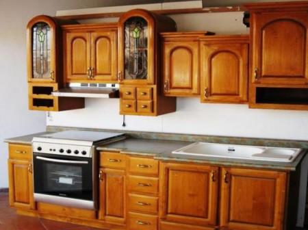 Cocinas integrales de madera
