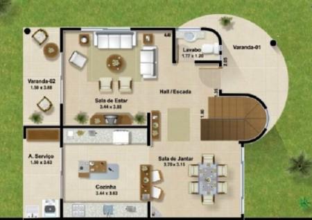Planos de casas modernas (2)