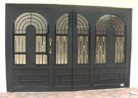Puertas de herrería